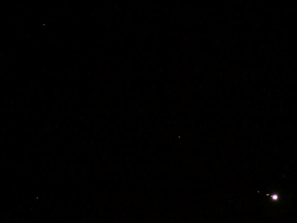 Photo of Jupiter and Uranus