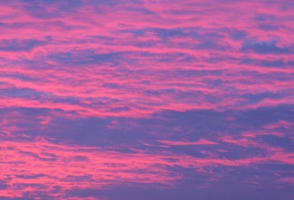 Pink Sky in York