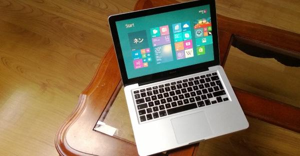 Windows 8.1 on 2008 MacBook