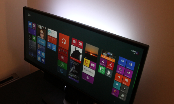 Dell Ultrawide monitor with LED Backlight