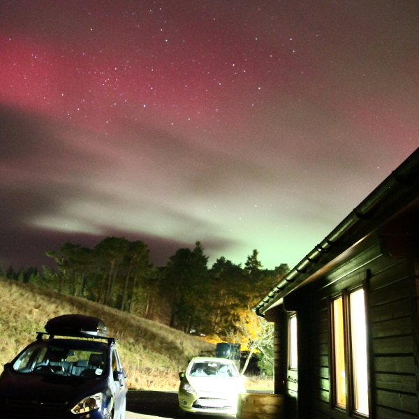 Aurora over Kielder