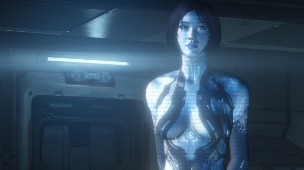 Cortana in Halo