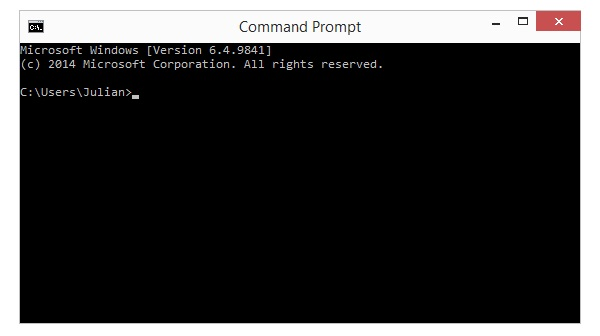 Windows 10 Console