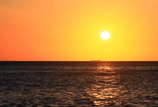 Sunrise at Whitby