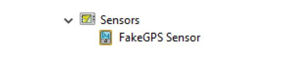 FakeGPS Sensor Driver