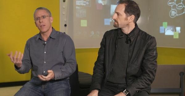 Dave Jones and Anton Andrews