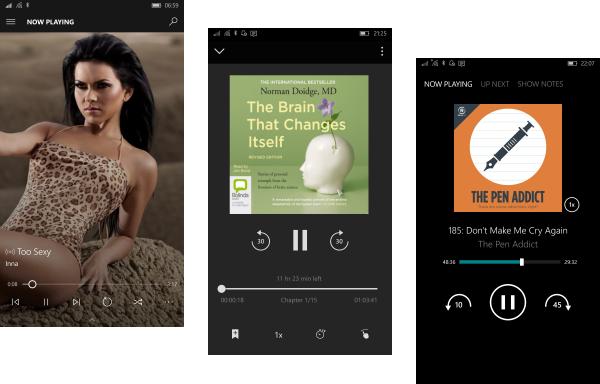 Windows 10 Audio Apps