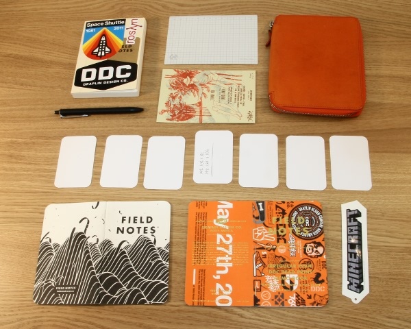 Analogue NoteTaking System For   Julian Kay
