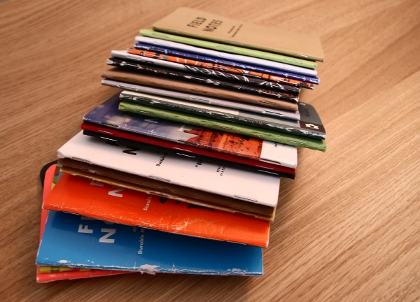 Stack of Field Notes notebooks