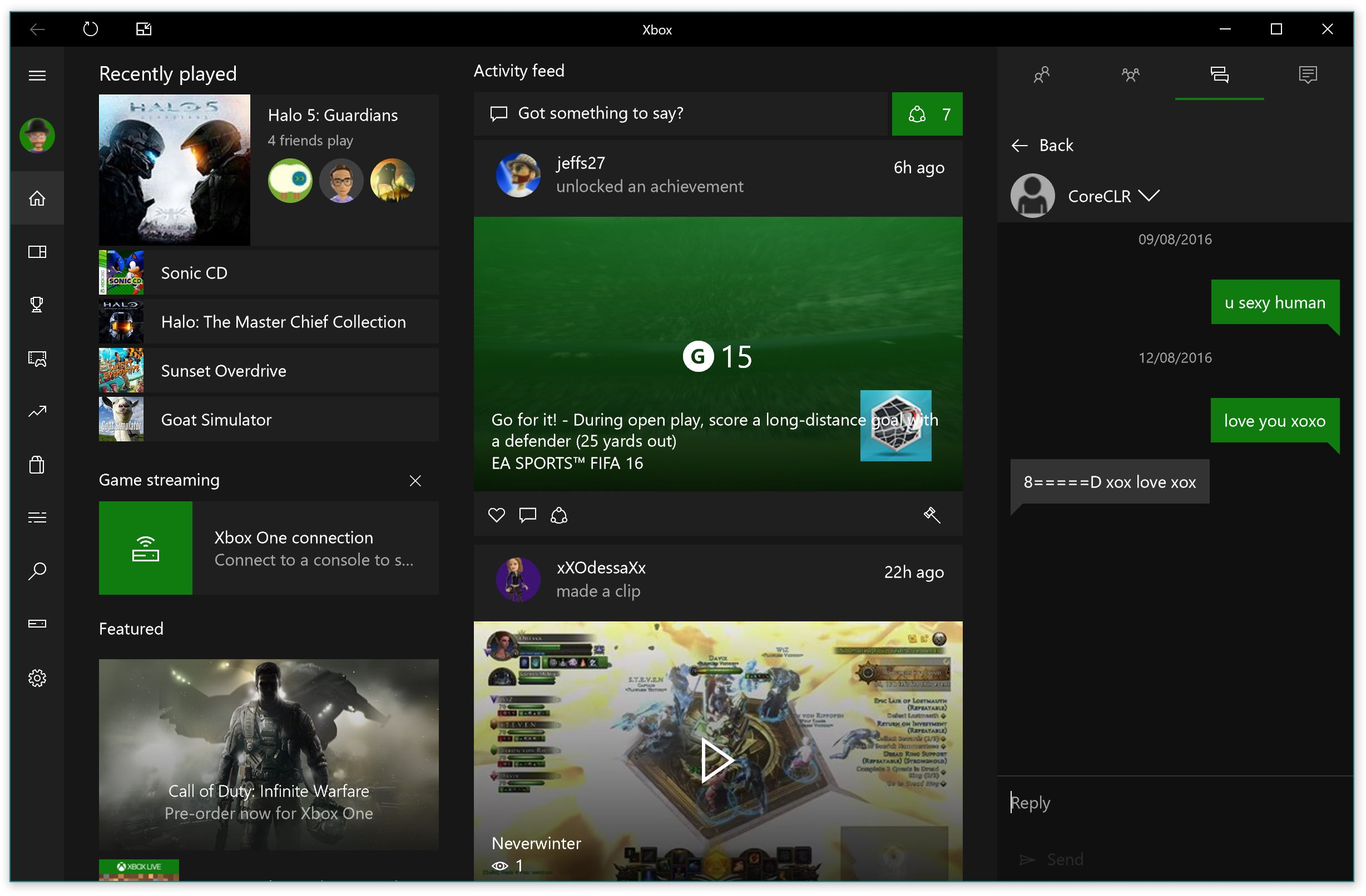 Xbox App for Windows