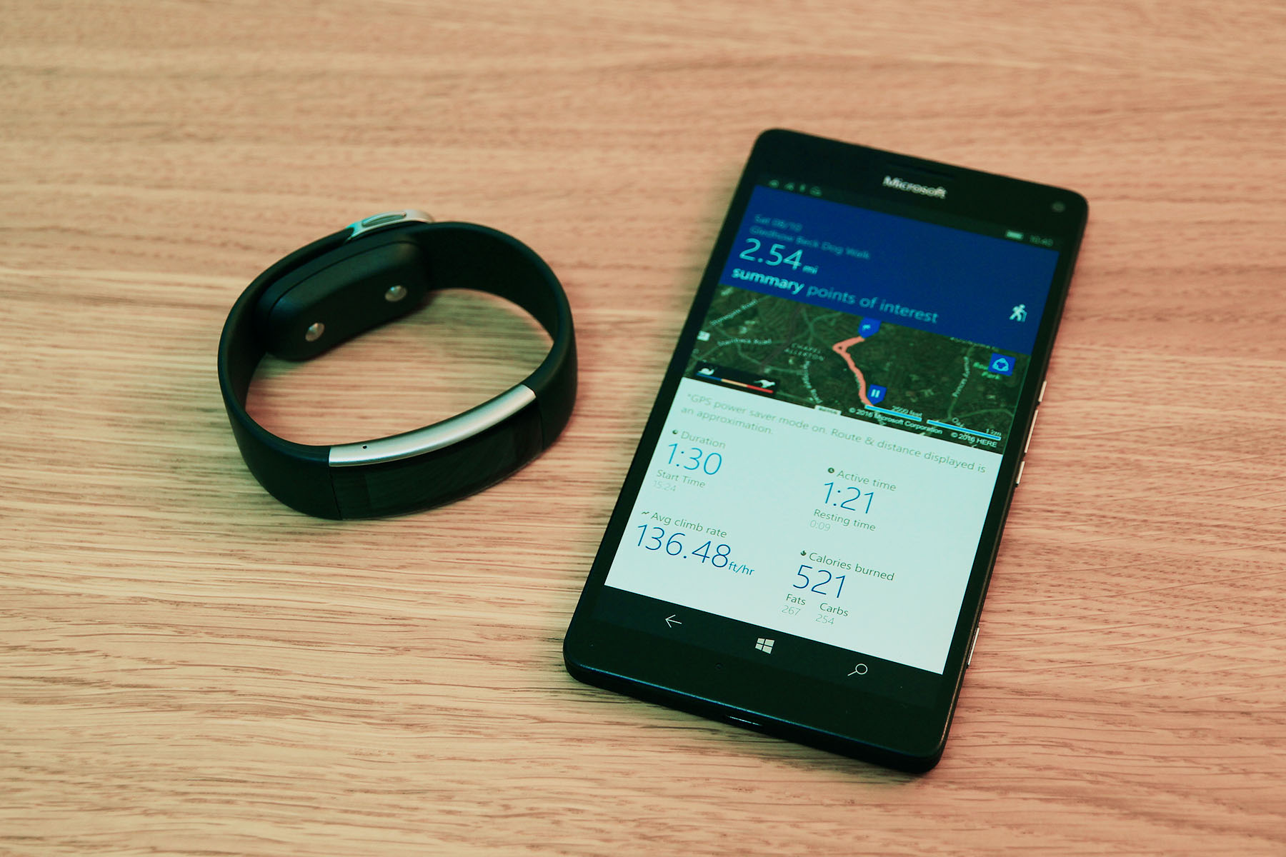 Band and Lumia